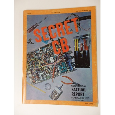SECRET CB VOLUME 1 Published 1977