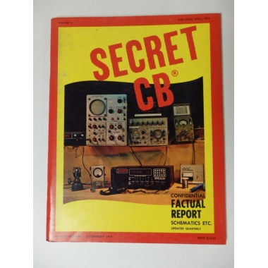 SECRET CB VOLUME 5 Published 1979