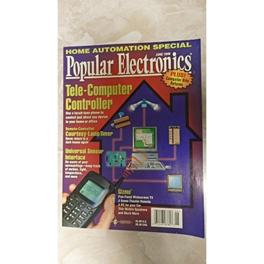 VINTAGE POPULAR ELECTRONICS MAGAZINE - JUNE 1999