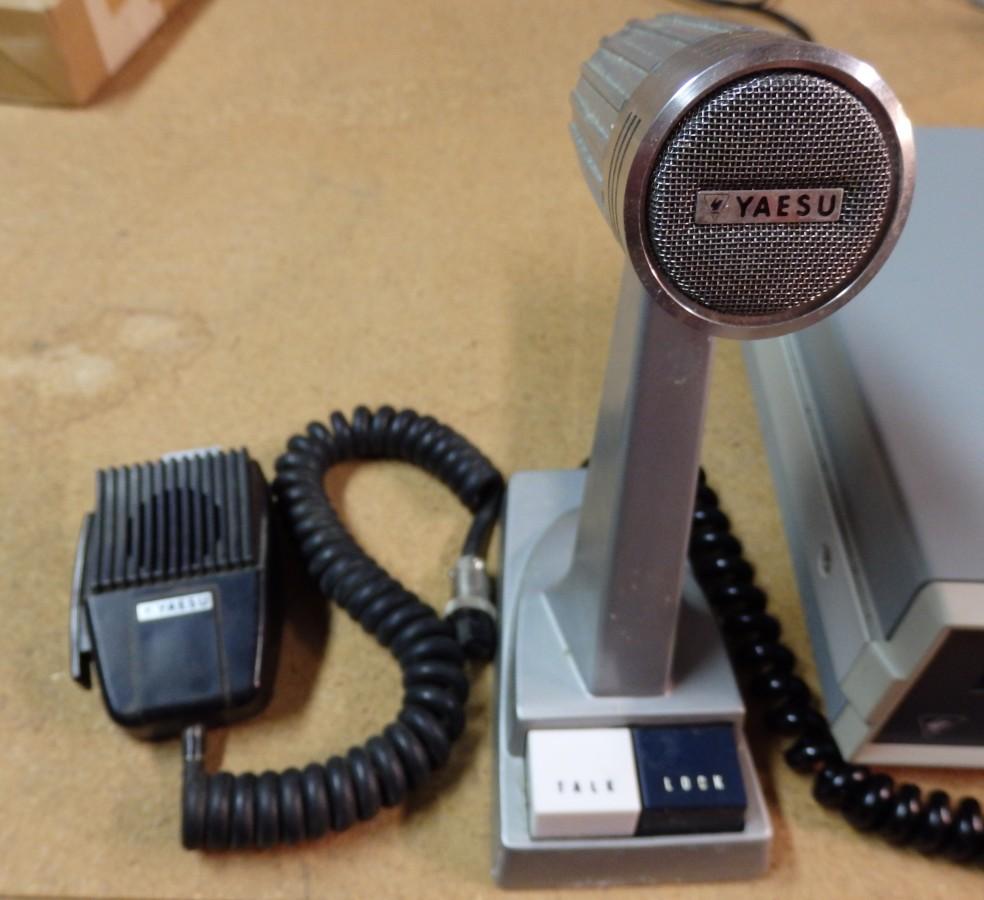 YAESU FT-101EE HAM RADIO, FV-101B VFO, YC-601 FREQUENCY COUNTER HAM RADIO